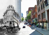 Amazing photos of Seattle then and now, stitched together