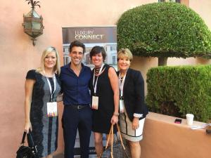 Windermere agents Erica Clibborn, Wendy Paisley, and Tere Foster with Madison Hildebrand