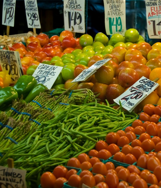 Pike Place Market Best Farmers Market in America.