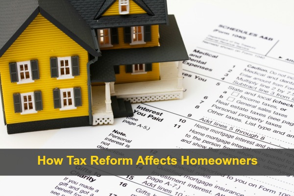 House on a US tax form schedule A